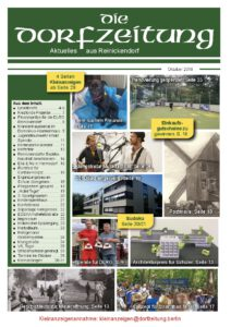 Die Dorfzeitung Reinickendorf Oktober 2019