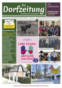 Die Dorfzeitung Reinickendorf April 2020