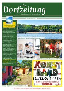 Die Dorfzeitung Reinickendorf September 2020