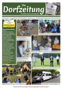 Titelbild der Dorfzeitung für Oktober 2020