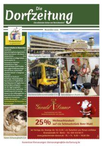 Die Dorfzeitung November 2020 Titelbild