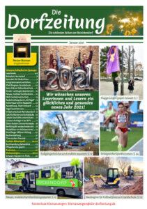 Titelseite des Magazins Die Dorfzeitung Reinickendorf Januar 2021